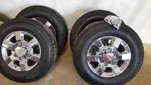 2016 GMC HD stock wheels and tires