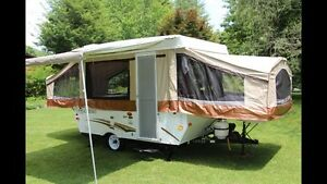Pop-Up Tent Trailer For Rent.– 8 Ft 2011 Palomino P-280