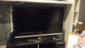 "40"" Samsung TV. Great price and still in decent condition."