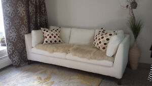 ** WHITE COUCH FOR SALE **