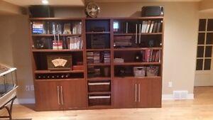 3 piece bookshelf