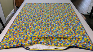 Weighted blankets, shoulder wraps, lap pads and animals