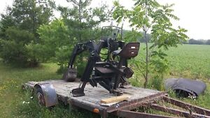 3PH backhoe for tractor