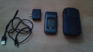 LG-A341 Flip Phone. Used Condition