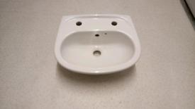 New small cloakroom basin
