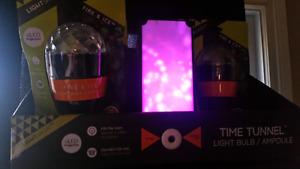 Lumières DEL LED Time Tunnel Fire & Ice Ampoule Light Show