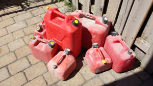 Gasoline containers