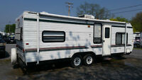 26' SUNLINE REAR BUNKS!SLEEPS 6! GOOD UNIT! NO FEES!