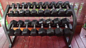 Free Weight Set With Rack