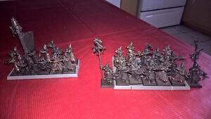 Figurines elfes noirs/ Dark elves Warhammer Fantasy