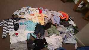 Baby boy clothes 0 to 3 and 3 to 6 months