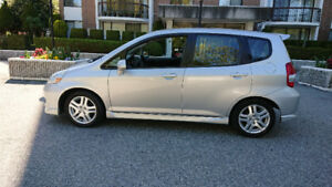 2007 Honda Fit Sport 5 Speed Manual Wagon