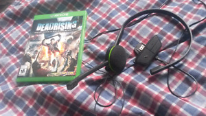 Dead rising and mic for xbox one