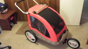 Little Tikes Cozy Cruiser Bicycle Trailer and Jogger