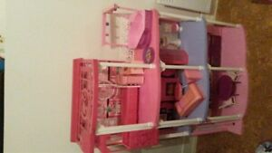 Barbie house with sounds and accessories