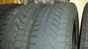 185/65/14 Winter Tires and Rims Cambridge Kitchener Area image 1
