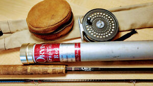 Vintage Orvis fly rod and matching reel - price drop