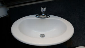 Brand new sink and Moen faucet
