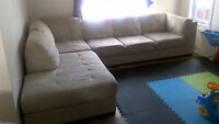 Sofa Sectionnelle beige