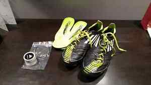 Adidas F50 TRX FG  leather soccer shoes 9.5