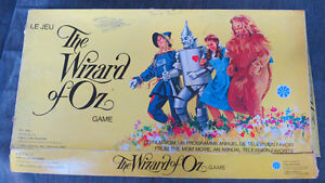 The Wizard Of Oz  boardgame(1974)