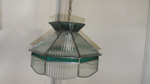 Tiffany Style hanging ceiling fixture