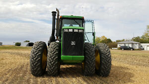 JD 9200 w/ Seedhawk 44ft air drill
