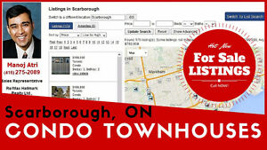 Condo Townhouses For Sale In Scarborough - 100+ Hot New Listings