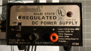**New Price** Calrad Solid State Power Supply Model 45-735