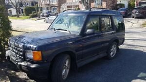 2001 Land Rover Discovery Series II SE7