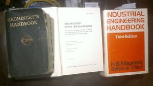 three Industrial Engineering books