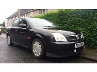 2004 04 VAUXHALL VECTRA 1.8i 16V LS 5 DOOR . PX WELCOME . LONG MOT . BARGAIN .