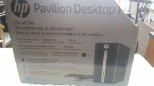 Tour d'ordinateur HP neuve à vendre