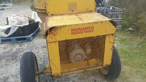 Monarch Electric Cement Mixer 110V Motor 1/3 Yard Drum