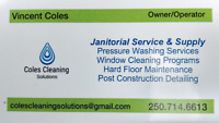 Post Construction Cleaning, Pressure Washing, Windows, Siding