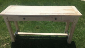 Rustic Table solid wood