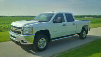 2011 CHEVY CREW CAB SHORTBOX 2500HD 4X4 CLEAN TRUCK LOW MILES