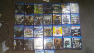 Ps4 games for sale and/or trade