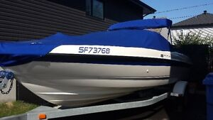 bateau open deck 21 pi