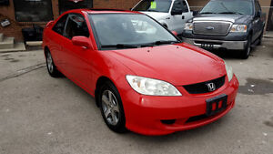 2004 Honda Civic SI Coupe in mint condition