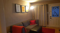 Updated 2 Bed + Den Apartment in detached home New Toronto!