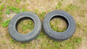 2 pneus 205/75/15