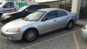 2001 Chrysler Sebring Low KMS