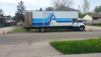 32' MOVING TRUCK returning EMPTY to ONTARIO