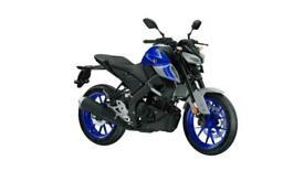 YAMAHA MT-125 2021 NEW UNREGISTERED BLUE MOTORCYCLE 125CC
