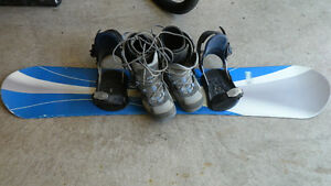 Firefly Snowboard with boots