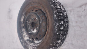 175/65/14 Firestone winterforce winter tires for sale.