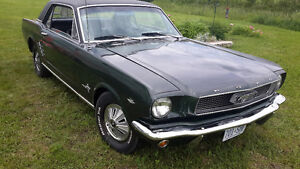 Ford Mustang 289 V8 pony 1966