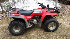 Honda fourtrax 300 2wd.  Please call after 6 pm