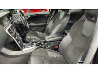 Volvo V40 D2 (120) R DESIGN 5dr - R-Design Leather Sports Up Hatchback Diesel Ma